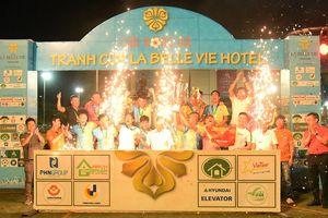 Bế mạc giải bóng đá tranh Cúp La Belle Vie Hotel 2020
