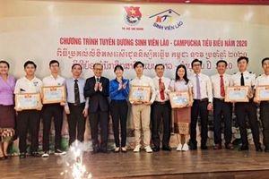 Tuyên dương 122 gương sinh viên Lào, Campuchia tiêu biểu