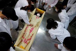 Gia tăng xu hướng phụ nữ Hàn Quốc hành nghề trang điểm xác chết