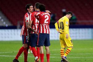 Atletico Madrid chấm dứt mạch 10 năm không thắng Barca