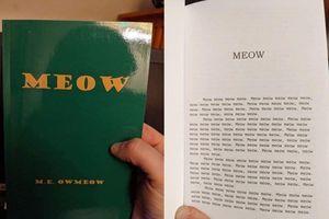 Cuốn sách kỳ lạ nhất thế giới: Viết bằng ngôn ngữ của loài mèo