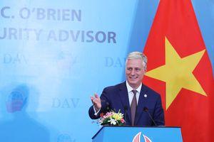Cố vấn An ninh Quốc gia Mỹ nói chuyện với sinh viên Việt Nam