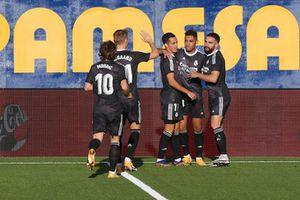 Courtois mắc sai lầm, Real bị Villarreal cầm hòa cay đắng