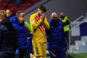 Barca mất Pique một tháng vì chấn thương