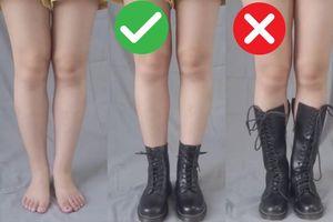 Chị em chân thô, đùi to tuyệt đối không mua kiểu boots lộ nhược điểm 'chân voi' này