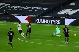 Man City thất bại đau đớn trước Tottenham