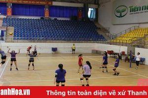 Đội bóng chuyền nữ Hải Tiến Resort Thanh Hóa chuẩn bị lực lượng cho vòng 2 giải vô địch quốc gia