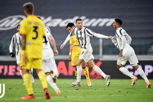 Kết quả Juventus 2-0 Cagliari: Ronaldo lập cú đúp
