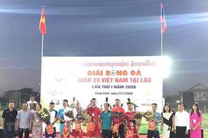 7 đội bóng tham dự giải 'Over 29 Việt Nam' tại Lào lần thứ nhất