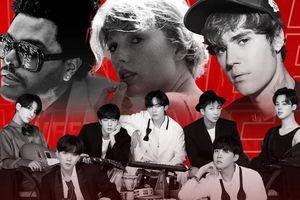 BTS, Taylor Swift, The Weeknd và Justin Bieber 'càn quét' giải thưởng AMAs