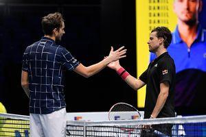 Medvedev lần đầu vô địch ATP Finals