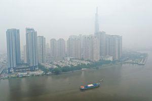 Chất lượng không khí ở TP.HCM kém nhất cả nước sáng nay