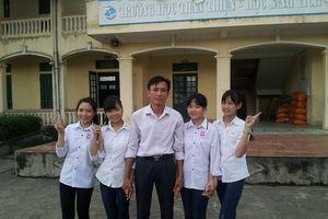 Ảnh thời trung học của Hoa hậu Việt Nam Đỗ Thị Hà