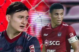 Cầu thủ Muangthong United đá phạt 11 m thảm họa