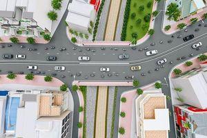 Cấm ôtô tải, xe khách chạy qua khu vực thi công cầu Hang Ngoài