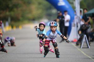 Tuyển chọn tài năng trượt băng tại giải đua Roller Sports Hà Nội mở rộng 2020