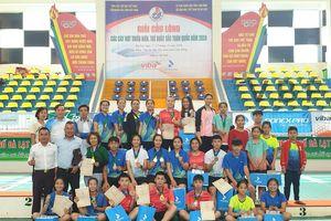 Kết thúc Giải cầu lông các cây vợt thiếu niên, trẻ xuất sắc toàn quốc năm 2020