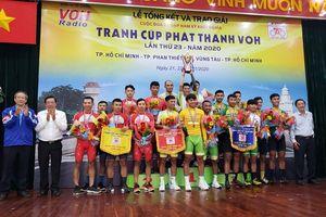 An Giang thắng lớn tại Giải xe đạp Nam Kỳ Khởi Nghĩa 2020