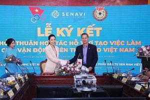 Senavi hỗ trợ tạo việc làm cho vận động viên Việt Nam