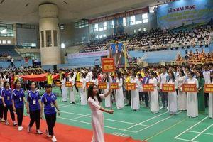 Hơn 4.000 lượt vận động viên tranh tài Hội khỏe Phù Đổng tỉnh Thái Nguyên