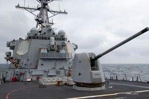 Tàu khu trục tên lửa dẫn đường của Mỹ trở lại Biển Đông
