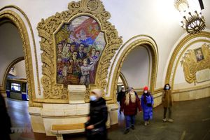 Khám phá 'cung điện dưới lòng đất' ở thủ đô nước Nga