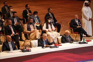 Hòa đàm giữa chính phủ Afghanistan và lực lượng Taliban đạt tiến triển