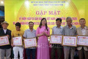 Thái Nguyên tiếp nhận 75 hiện vật có giá trị lịch sử văn hóa