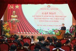 Kỷ niệm 75 năm Ngày thành lập ngành Thanh tra Việt Nam