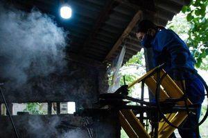 Quá trình ươm tơ truyền thống tại Thái Bình