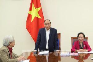 Thủ tướng Nguyễn Xuân Phúc làm việc với Trung ương Hội Khuyến học Việt Nam