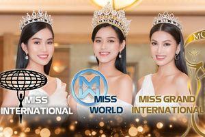 Fan ủng hộ Tân Hoa hậu Việt Nam thi Miss World, Á hậu 1 Phương Anh chinh chiến Miss International