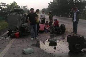 Tin tức tai nạn giao thông ngày 23/11: Xe 'hổ vồ' đâm công nông, 1 người tử vong