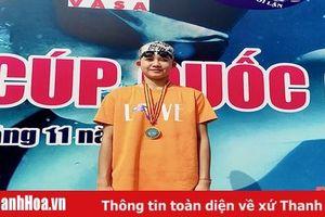 Đoàn Thanh Hóa thi đấu xuất sắc tại Giải bơi - lặn Cúp quốc gia 2020
