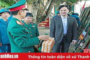 Ban Chỉ huy Quân sự huyện Thạch Thành xây dựng đơn vị vững mạnh toàn diện