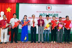 Hội Chữ Thập đỏ tỉnh biểu dương các cá nhân, gia đình tích cực tham gia hiến máu tình nguyện