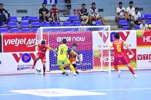 Loạt trận đầu của vòng chung kết Giải futsal HDBank Cúp quốc gia 2020: Các đội mạnh đều thắng