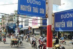 TP.HCM: Ngày 25/11, cấm ô tô trên đường Nguyễn Văn Nghi, Lê Quang Định