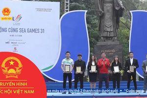 KHỞI ĐỘNG CÙNG SEAGAME 31 VÀ ASEAN PARAGAMES 11