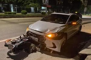 Tai nạn giao thông chiều 23/11: Thanh tra GTVT đi ngược chiều tông chết nữ lao công