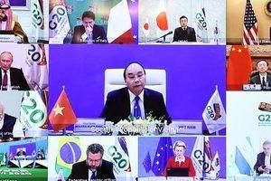 Thượng đỉnh G20 ủng hộ tiếp cận công bằng toàn cầu vắc-xin COVID-19