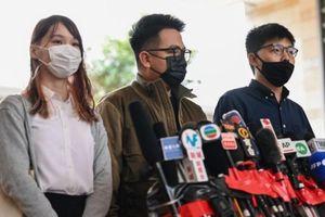 Hoàng Chi Phong, Lâm Lãng Ngạn, Châu Đình bị tạm giam