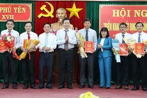 Phú Yên điều động, bổ nhiệm nhiều lãnh đạo chủ chốt