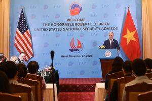 Hoa Kỳ mong muốn thúc đẩy quan hệ Đối tác toàn diện với Việt Nam ổn định, bền vững