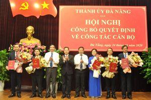 Phân công cấp ủy viên đối với 5 ủy viên Ban Thường vụ Thành ủy Đà Nẵng