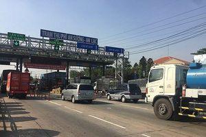 TPHCM kiểm tra tải trọng xe trên quốc lộ 1