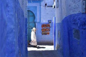 Điều bí mật ở thành phố màu xanh dương nổi bật nhất thế giới