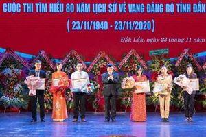 Ngành KSND Đắk Lắk giành giải 3 Cuộc thi tìm hiểu lịch sử Đảng bộ tỉnh