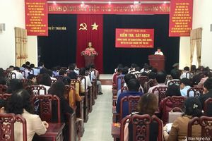 Kỳ thi sát hạch cán bộ, công chức ở thị xã Thái Hòa