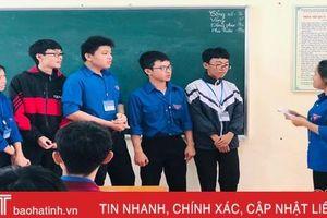 Các trường học Hà Tĩnh đổi mới phương pháp học tập, đánh giá học sinh theo Thông tư 26
